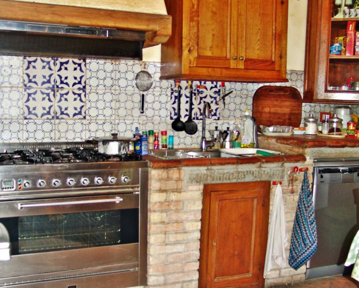 Original Antique Sicilian and Neapolitan Majolica Tiles